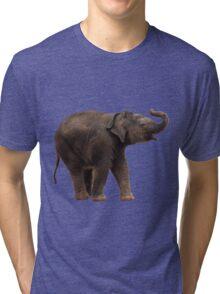 Lucky Baby Elephant tee Tri-blend T-Shirt