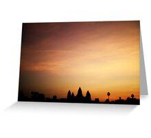 Angkor 3 Greeting Card