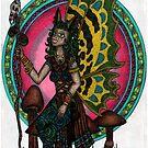 the wood sprite shaman by CherrieB