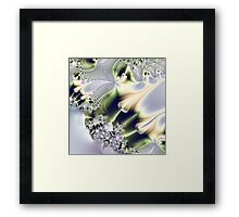 On Gossamer Wings the Faeries Fly Framed Print