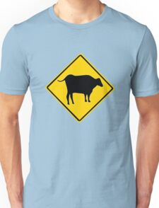 BULL CROSSING ROAD  SIGN  Unisex T-Shirt