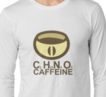 CAFFEINE C2H10N402 Long Sleeve T-Shirt