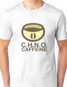 CAFFEINE C2H10N402 Unisex T-Shirt