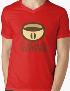 CAFFEINE C2H10N402 Mens V-Neck T-Shirt