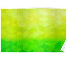 Abstract Art Citrus Fractal Poster