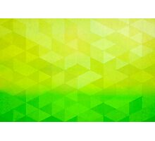 Abstract Art Citrus Fractal Photographic Print