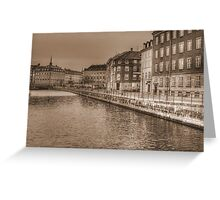 Sepia Town! Greeting Card