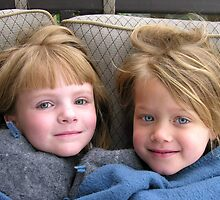 Blue Eyed Cousins by michelle123