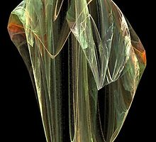 Quartz Crystal Point by Barry Norton