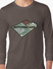 MOTHERBOARD COMPUTER Long Sleeve T-Shirt