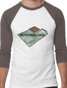 MOTHERBOARD COMPUTER Men's Baseball ¾ T-Shirt