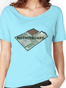 MOTHERBOARD COMPUTER Women's Relaxed Fit T-Shirt