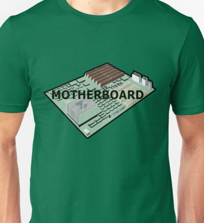 MOTHERBOARD COMPUTER Unisex T-Shirt