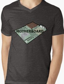 MOTHERBOARD COMPUTER Mens V-Neck T-Shirt