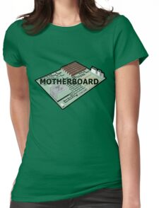 MOTHERBOARD COMPUTER Womens Fitted T-Shirt