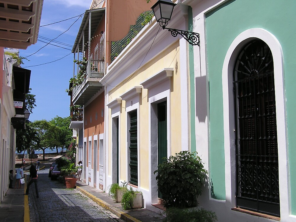 Old San Juan 2 by Christine Frydenborg Dargon