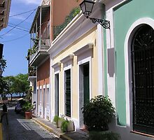 Old San Juan 2 by Christine Frydenborg Dargon