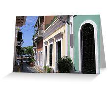 Old San Juan 2 Greeting Card