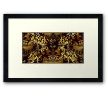 The Land of the Golden Lake Framed Print