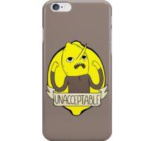 UNACCEPTABLE iPhone Case/Skin