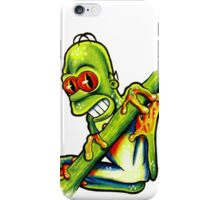 Homey Tree Frog iPhone Case/Skin