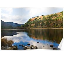 Lake Glendalough Poster