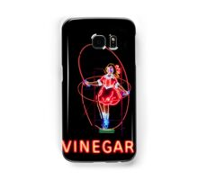 Neon Sign, Skipping Girl Vinegar, Melbourne, Australia  Samsung Galaxy Case/Skin