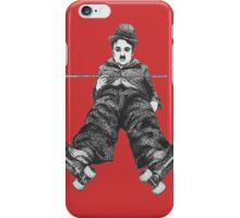 Chaplin on Skates Print iPhone Case/Skin