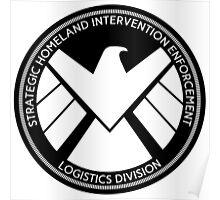 S.H.I.E.L.D. Logo Poster