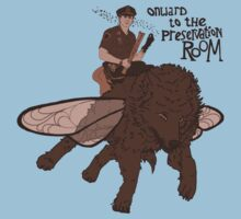 Onward to the Preservation Room One Piece - Short Sleeve