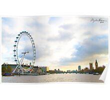 Thames River Poster