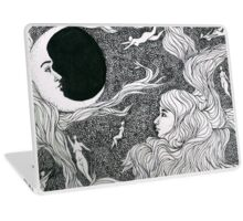 Moon Women Laptop Skin