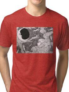 Moon Women Tri-blend T-Shirt