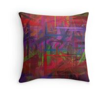 Pastel Colored Abstract Background #7 Throw Pillow