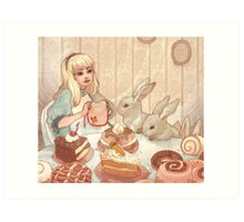 Easter Party Art Print