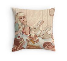 Easter Party Throw Pillow