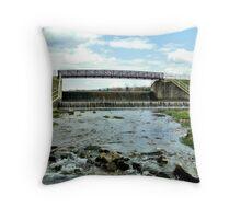Scenic Bridge  Throw Pillow