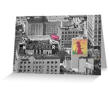 New Yorker 2 Greeting Card