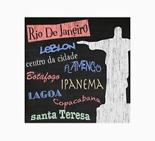 Rio de Janeiro Tourism Poster Unisex T-Shirt