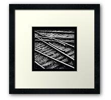 """"""" Tracks """" Framed Print"""