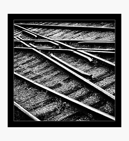 """ Tracks "" Photographic Print"