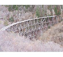 Railroad Cloudcroft Photographic Print