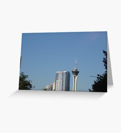 Towering! Greeting Card