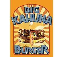Big Kahuna Burger Fast Food Photographic Print