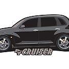 PT Cruiser - Black by Greg Hamilton