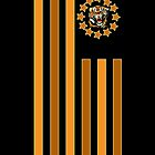 Tiger - Flag by Adamzworld