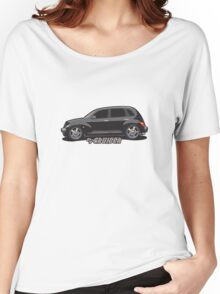 PT Cruiser - Black Women's Relaxed Fit T-Shirt