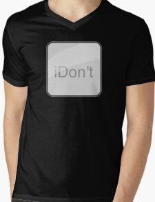 iDon't Mens V-Neck T-Shirt