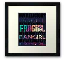 We are all Fangirls and Equal Framed Print