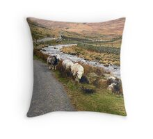 Herdwick Sheep. Throw Pillow